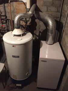 Installation d'une chaudiere à gaz Vitorondens - PABST