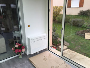 Installation d'une climatisation MITSUBISHI ELECTRIC - PABST