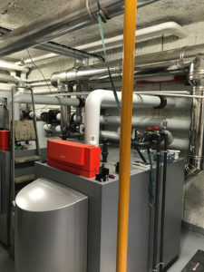 Rénovation complète de chaufferie - Viessmann VITOCROSSAL - PABST